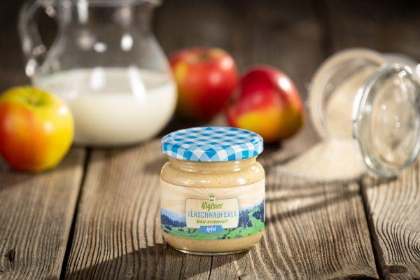 Allgäuer Verschnauferle Apfel Dinkel Grieß Dessert private label