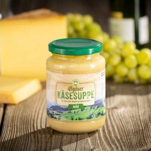 Allgäuer Käsesuppe mild mit Weißwein verfeinert private label
